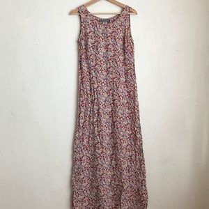 Vintage carol Anderson dress red floral small